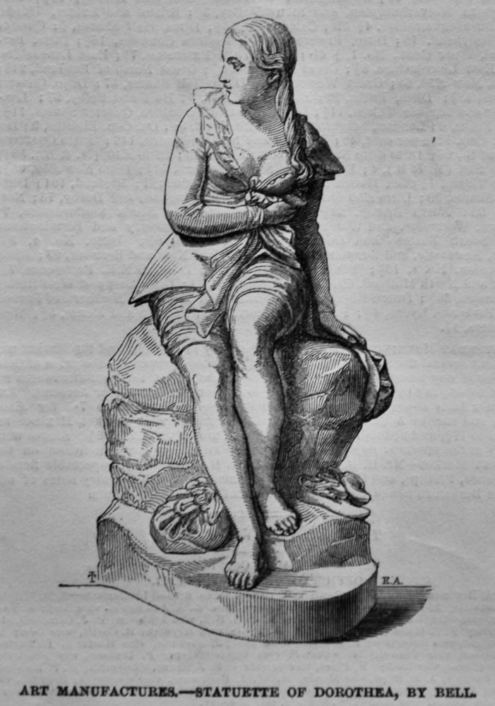 Statuette of Dorothea, by Bell.  1847.