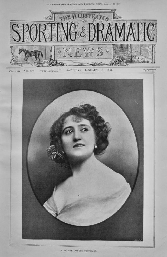A Spanish Dancer- Tortajada.  1901.