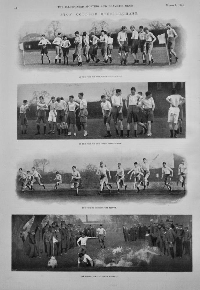 Eton College Steeplechase.  1901.