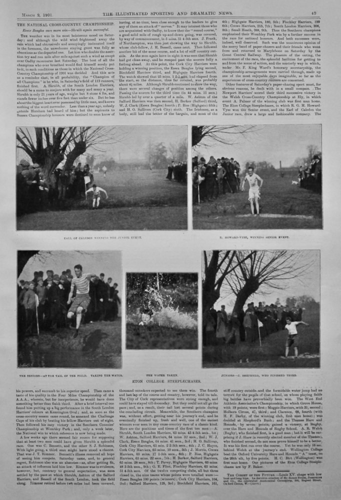 The National Cross-Country Championship.  1901.