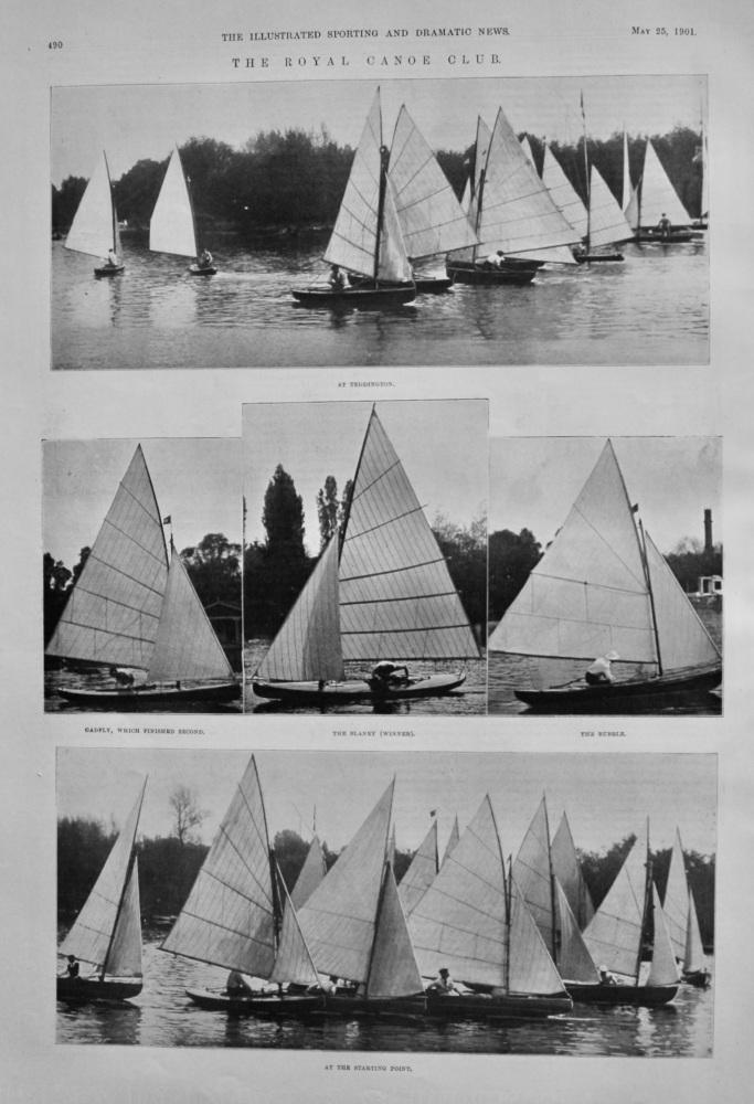 The Royal Canoe Club.  1901.
