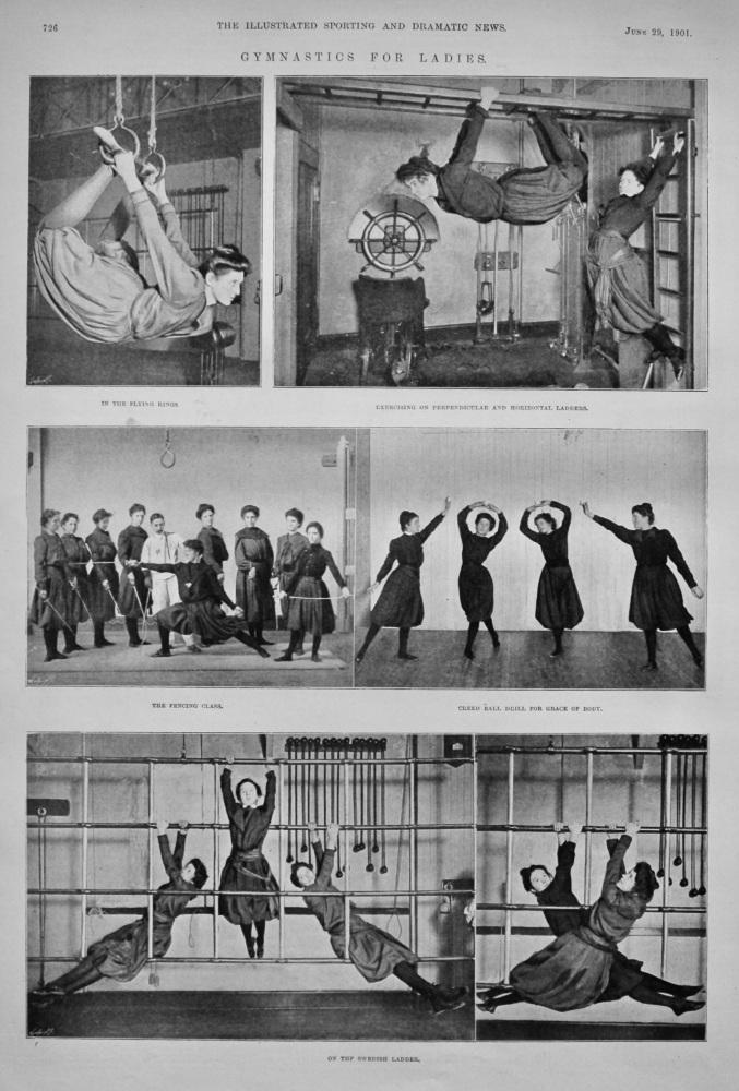 Gymnastics for Ladies.  1901.