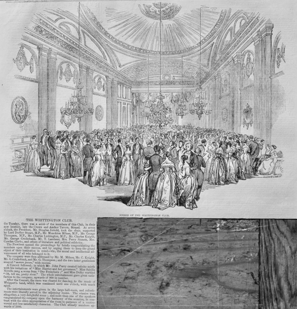 The Whittington Club.  1848.