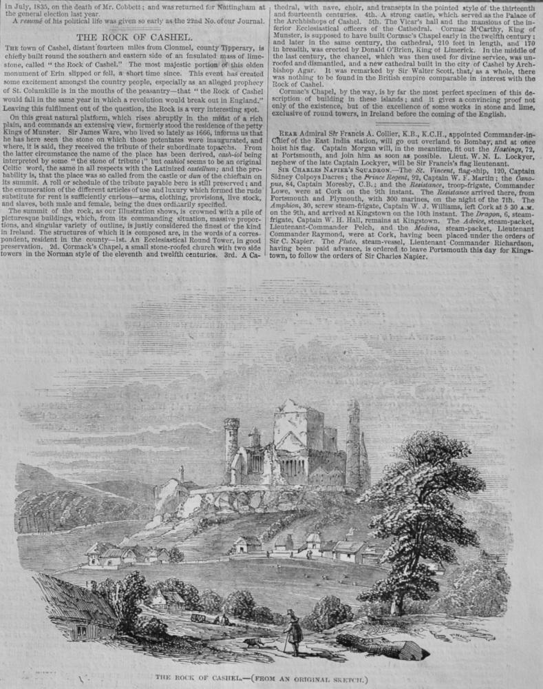 The Rock of Chashel,  1848.