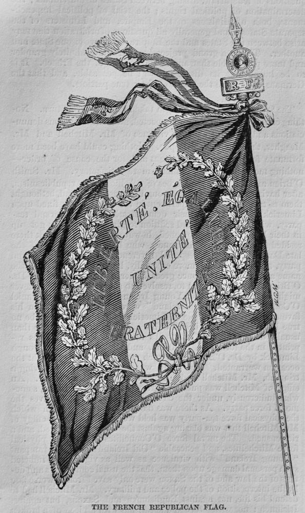 French Republican Flag.  1848.