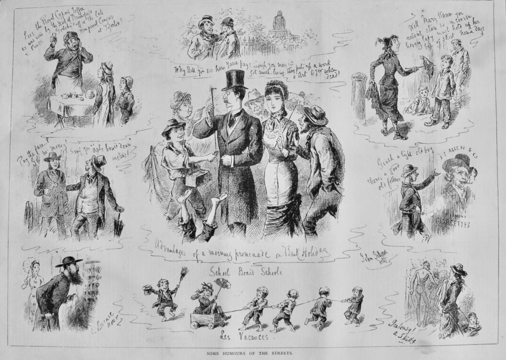 Some Humours of the Streets.  1878.