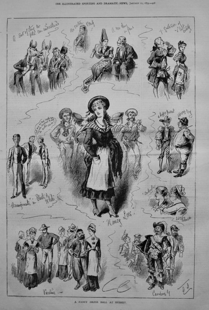 A Fancy Dress Ball at Sydney. 1879.
