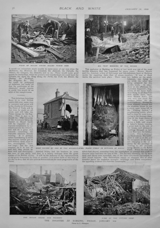 Boiler Disaster at Barking.  1899.