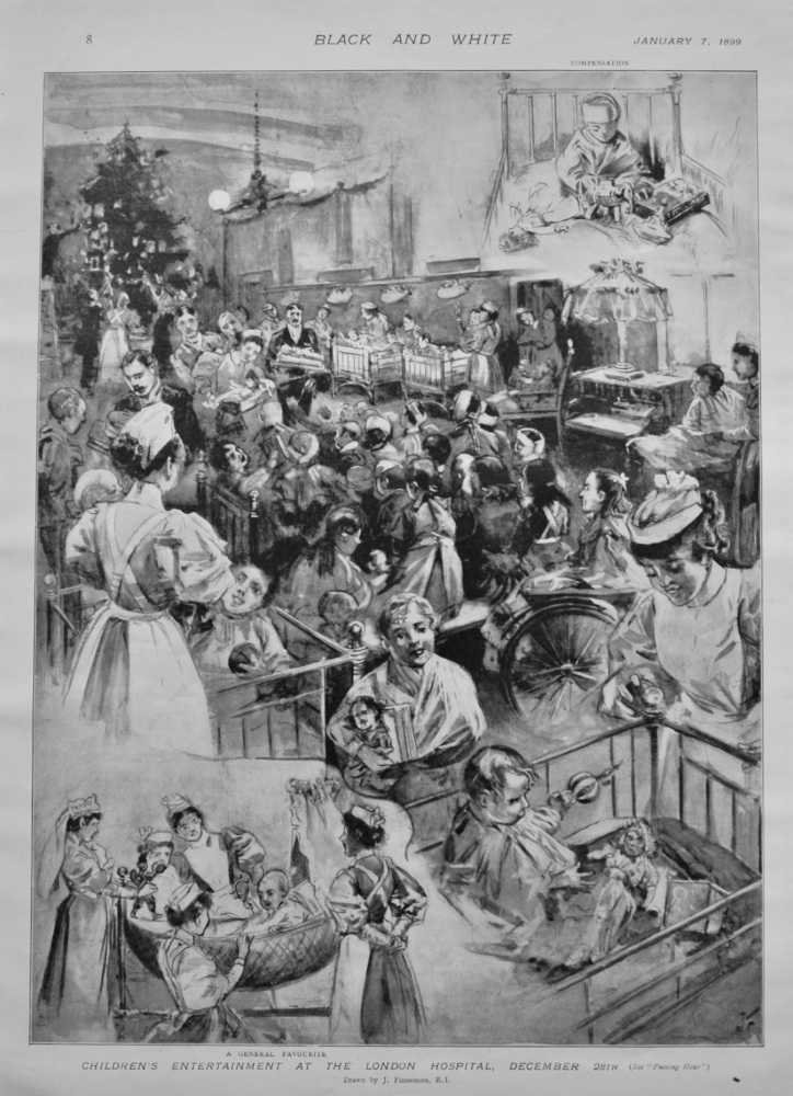 Children's Entertainment at the London Hospital, December 28th 1898.
