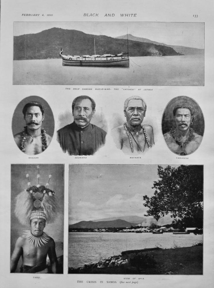 The Crisis in Samoa.  1899.