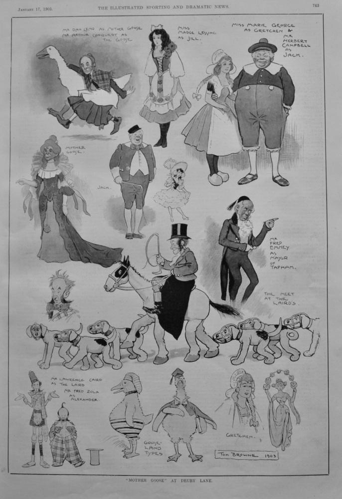 """""""Mother Goose.""""  at Drury Lane.  1903."""