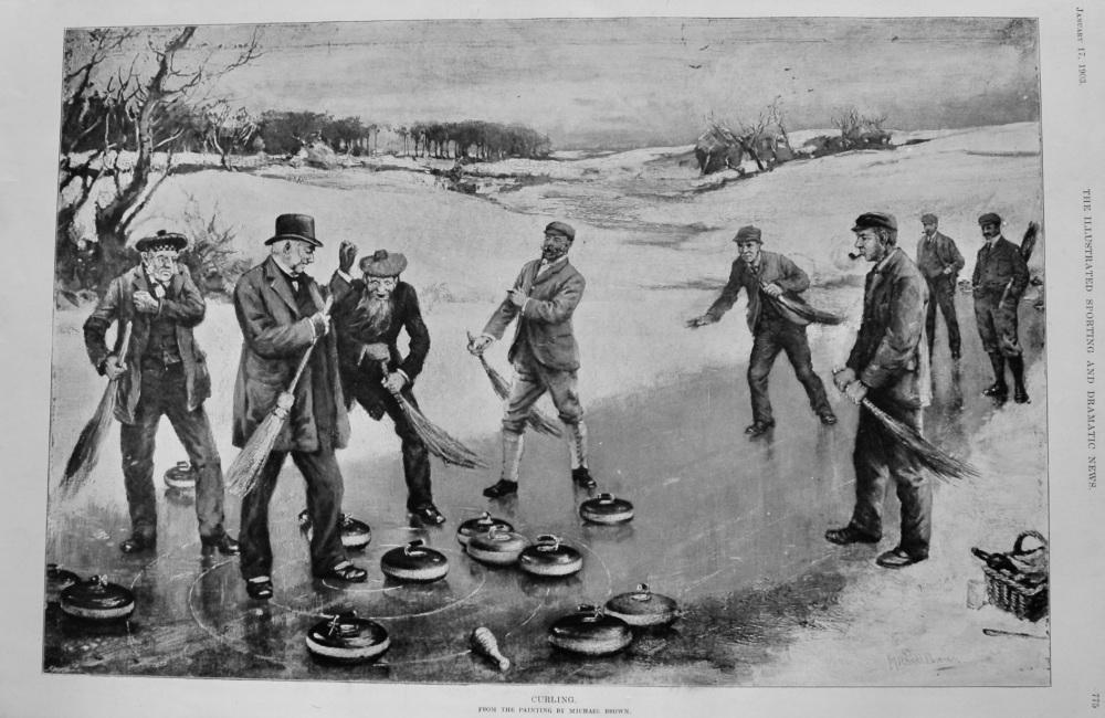 Curling.  1903.