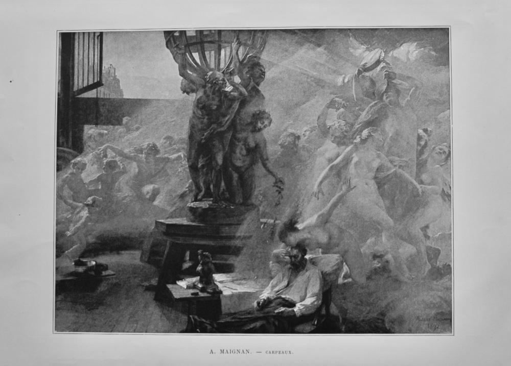 A. Maignan. -  Carpeaux.  1892.