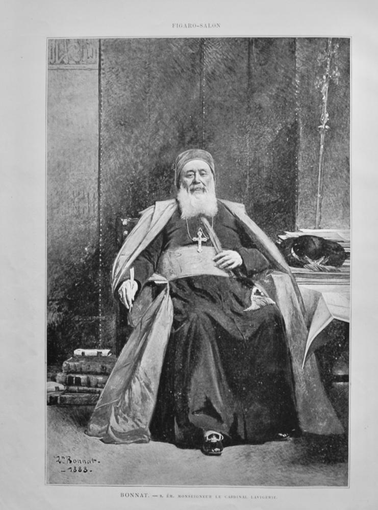 Bonnat. - S. Em.  Monseigneur Le Cardinal Lavigerie. 1888.