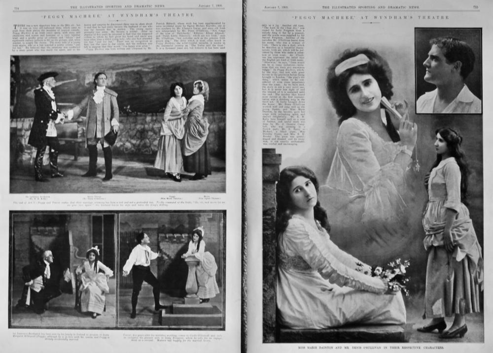 """""""Peggy Machree,"""" at Wyndham's Theatre.  1905."""