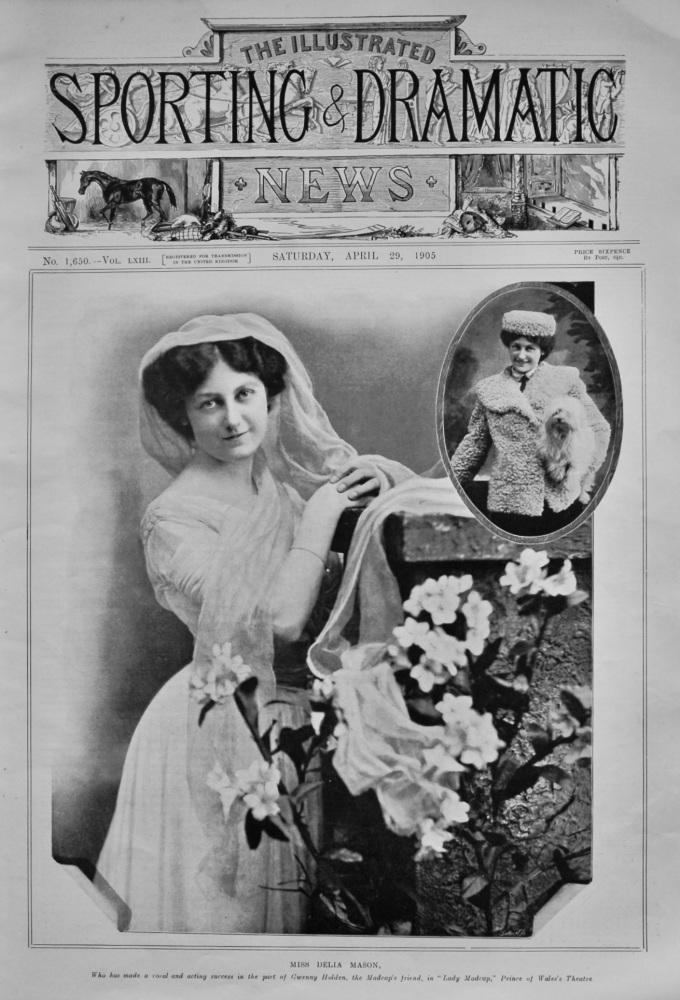 Miss Delia Mason. 1905.