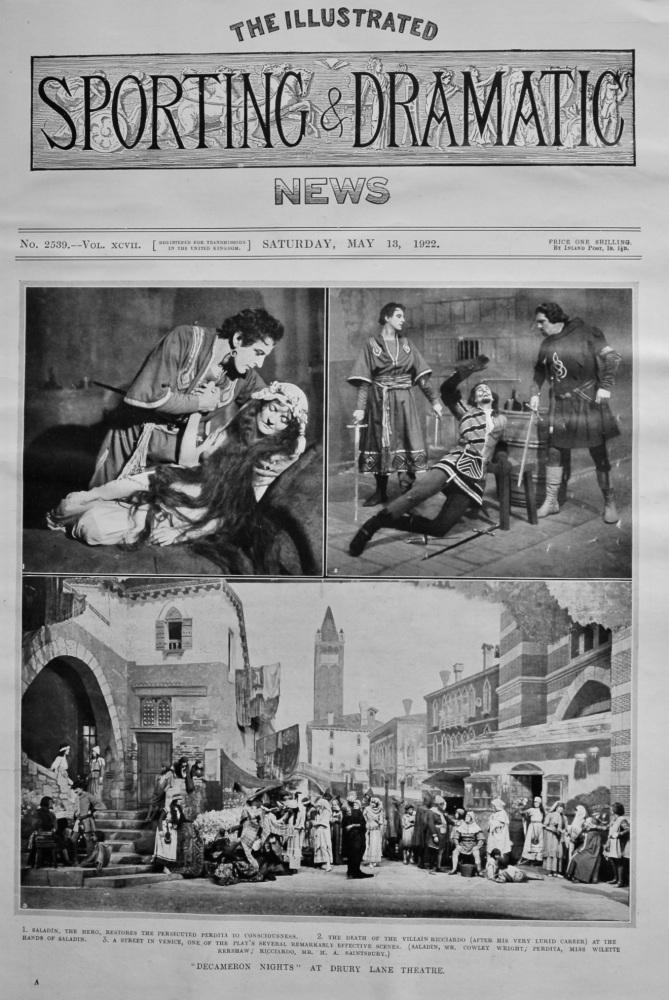 """Decameron Nights"" at Drury Lane Theatre.  1922."