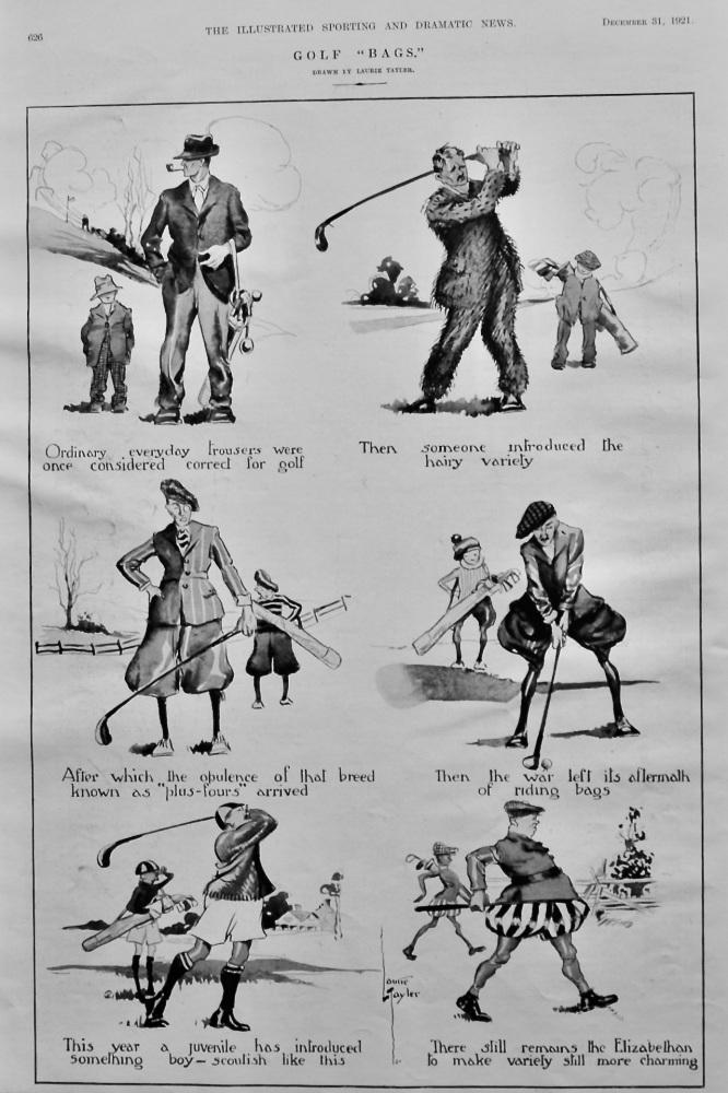 "Golf ""Bags.""   1921."