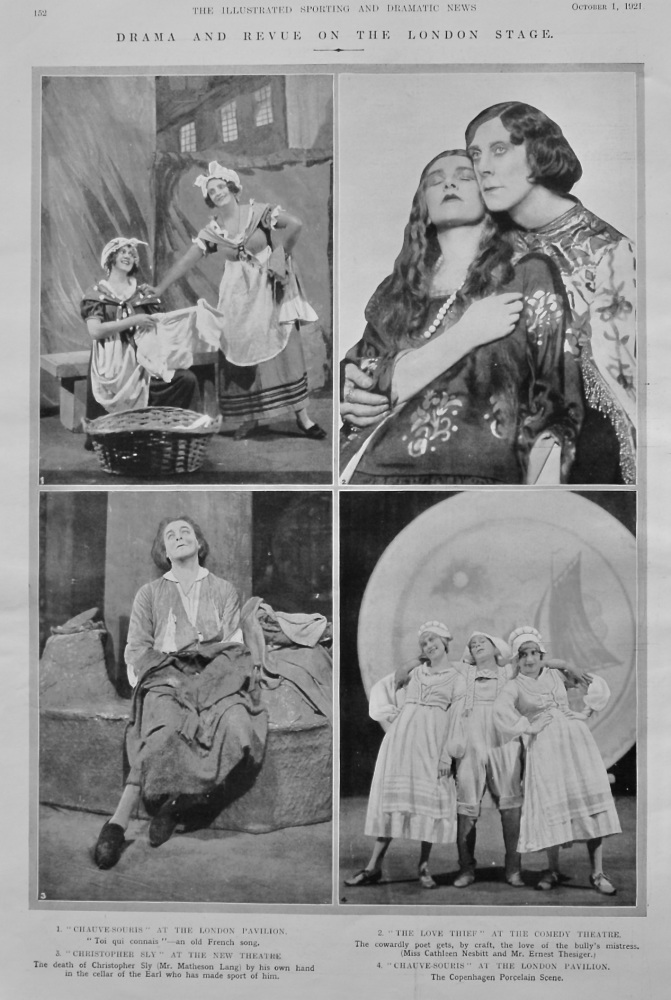 Drama and Revue on the London Stage.  1921.