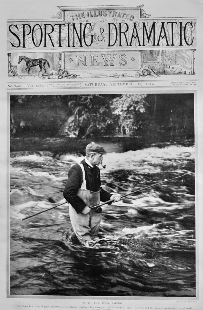 After the Doon Salmon.  1921.