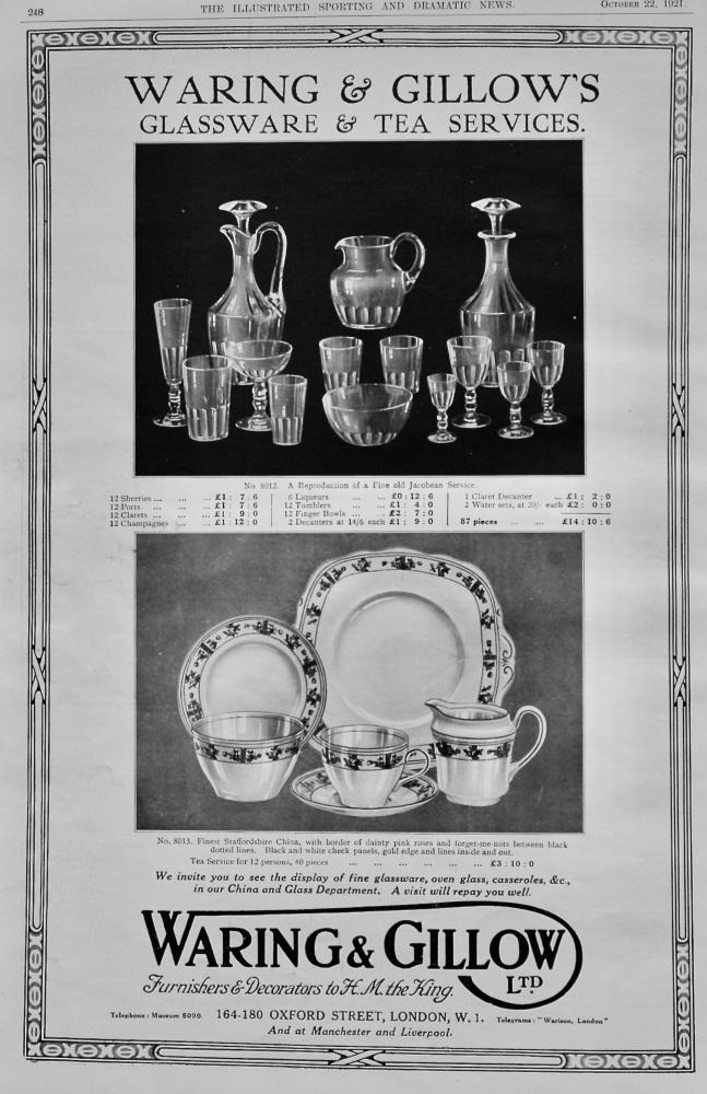 Waring & Gillows Ltd.   1921.