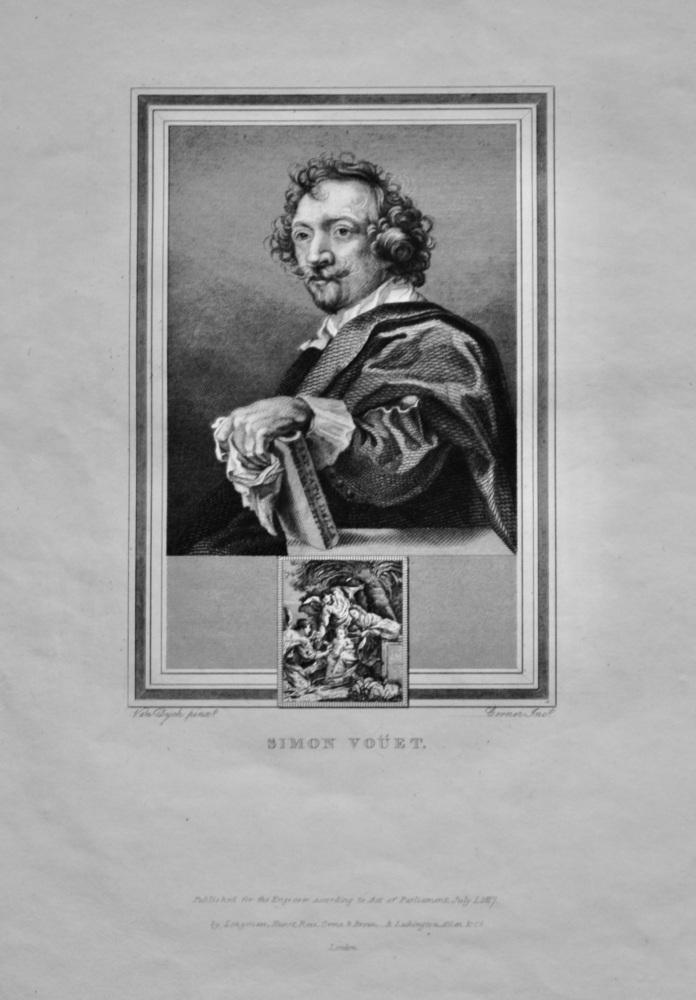 Simon Vouet.  1825.