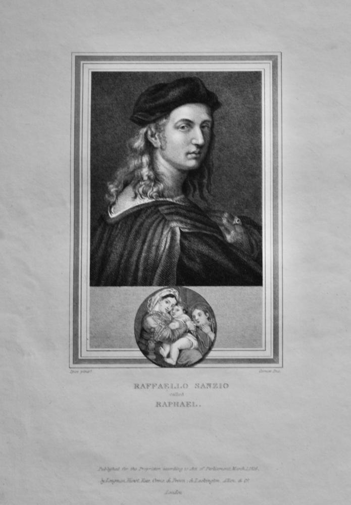 Raffaello Sanzio  called  Raphael.  1825.