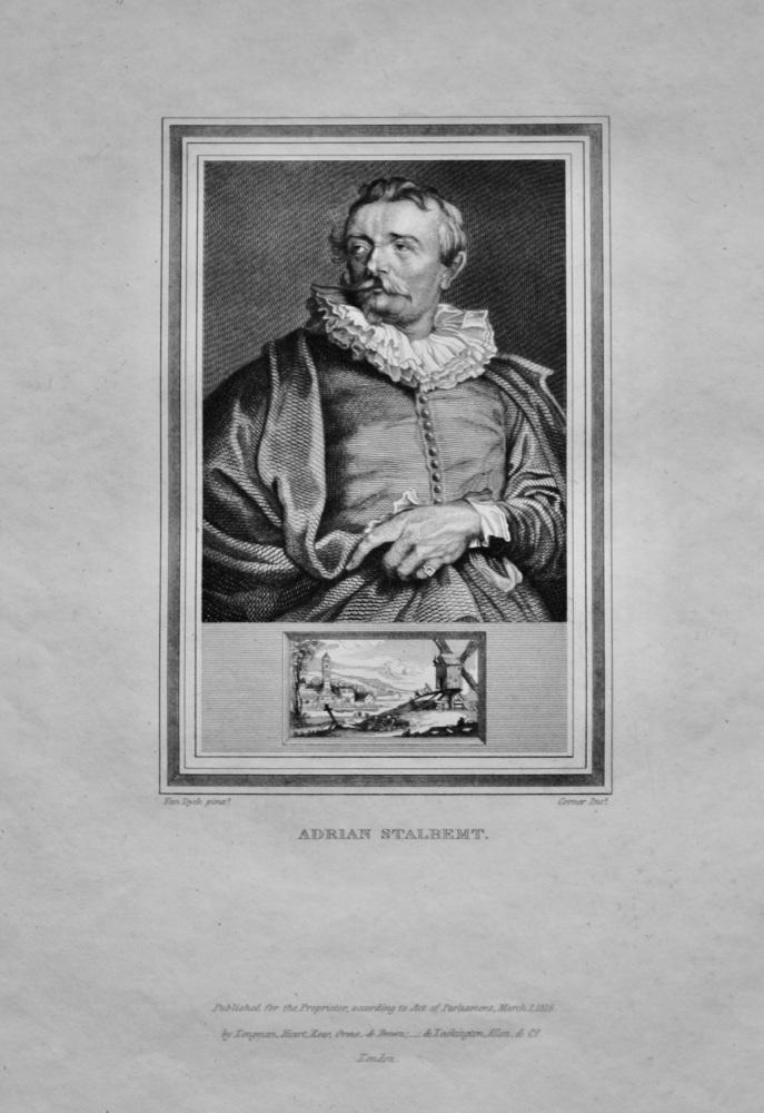 Adrian Stalbemt.  1825.