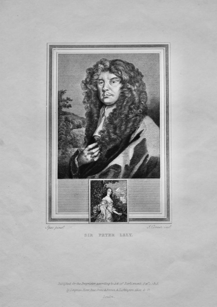 Sir Peter Lely.  1825.