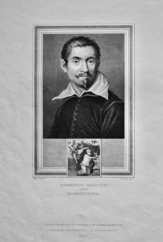Domenico Zampieri called Domenichino.  1825.