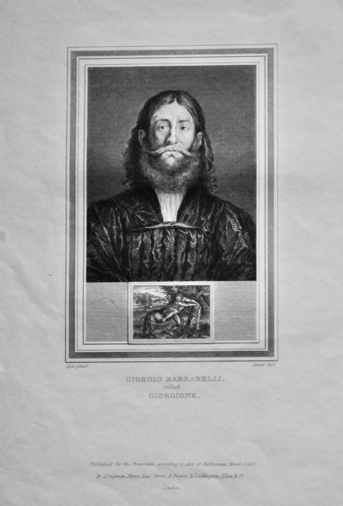 Giorgio Barbarelli.  called Giorgione.  1825.