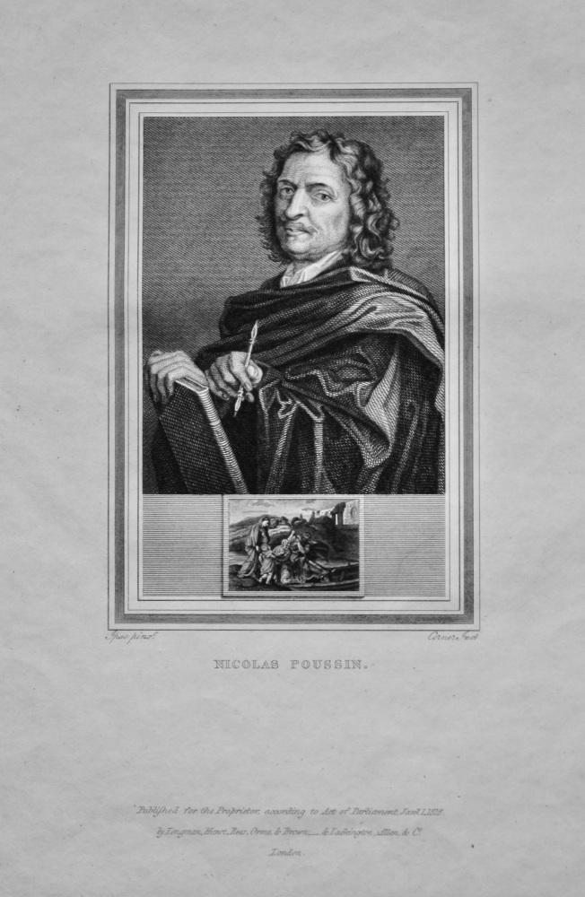 Nicolas Poussin.  1825.