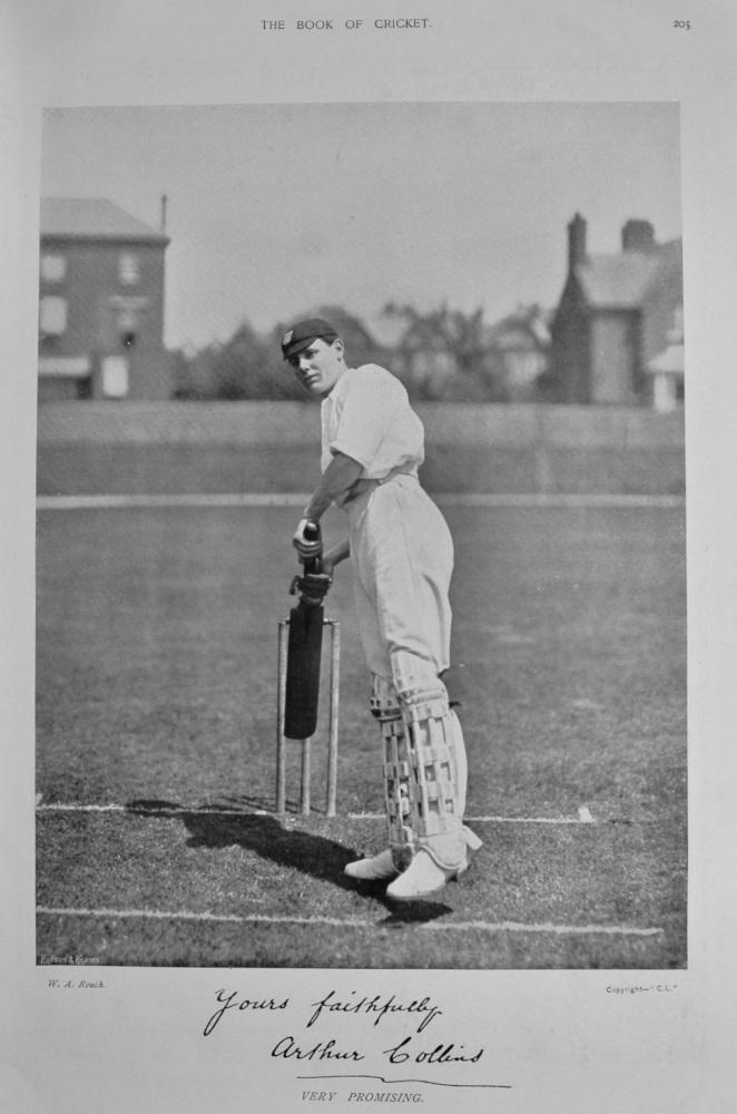 Arthur Collins.  1899.  (Cricketer).