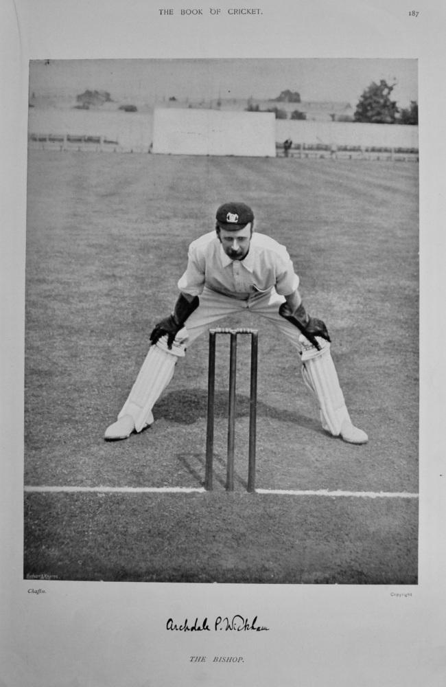 Archdale Palmer Wickham.  1899.  (Cricketer).