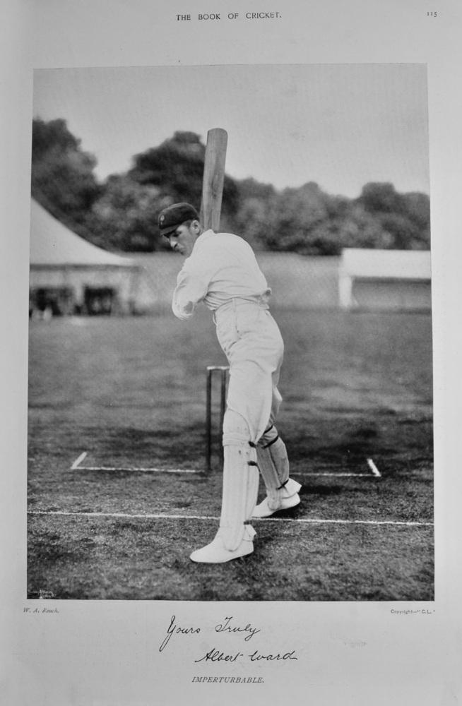 Albert Ward.  1899.  (Cricketer).