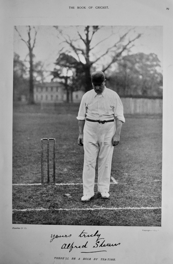 Alfred Shaw.  1899.  (Cricketer).