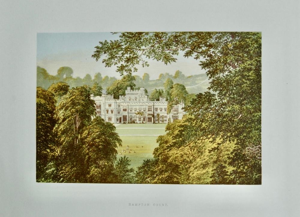 Hampton Court. 1880c.