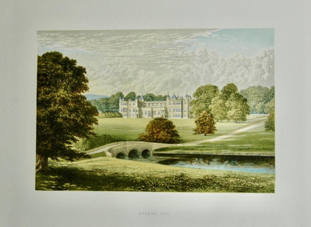 Audley End.  1880c.