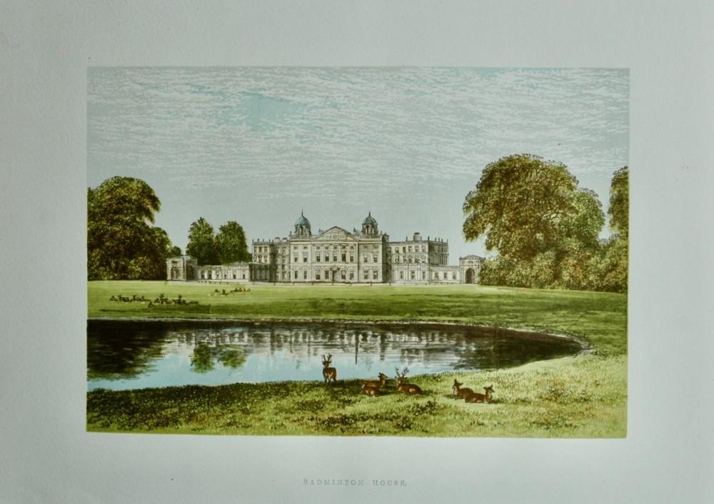 Badminton House.  1880c.