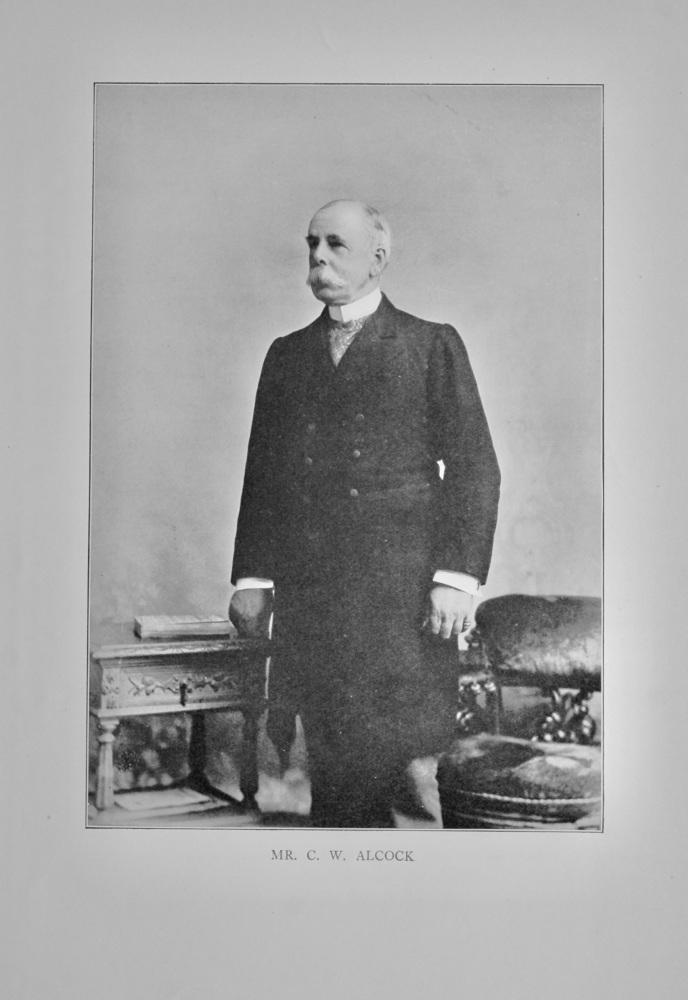 Mr. Charlie William Alcock.