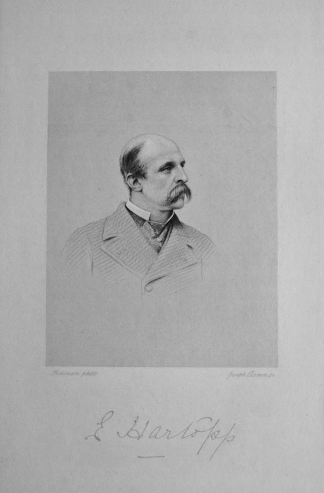 Captain Edward Hartopp.  (Polo Player).  1908.