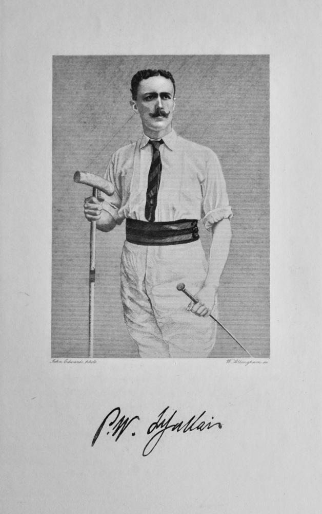 Philip Walter Jules Le Gallais.  1908.  (Polo).