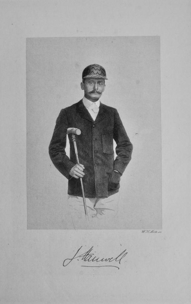 Major Joseph Hanwell. (Polo player).
