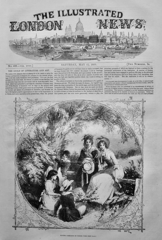 Illustrated London News,  May 17th 1851.
