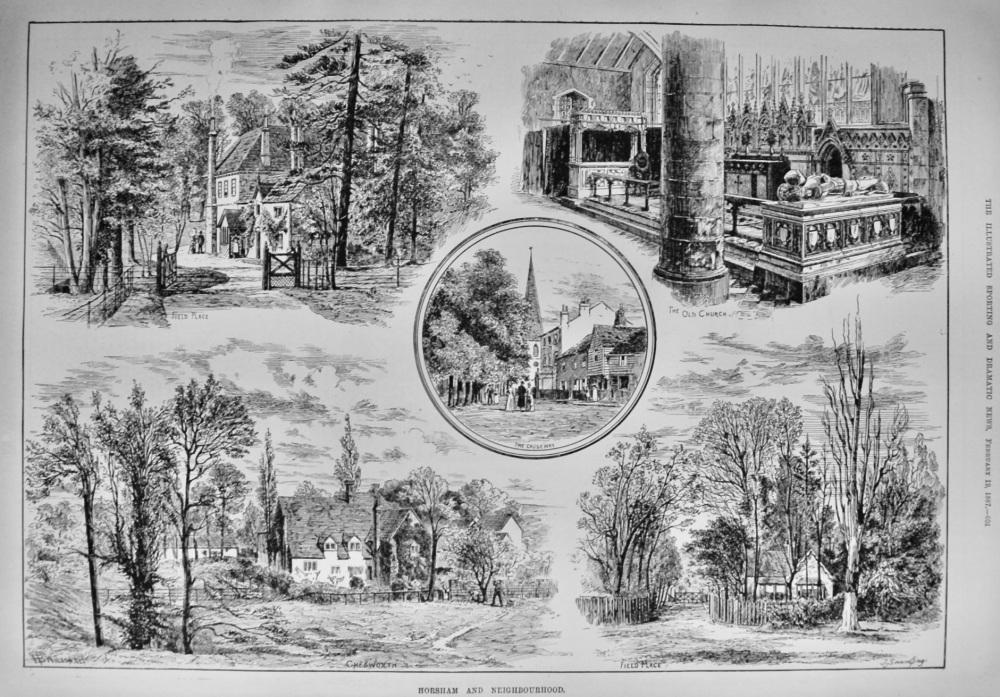 Horsham and Neighbourhood.  1887.