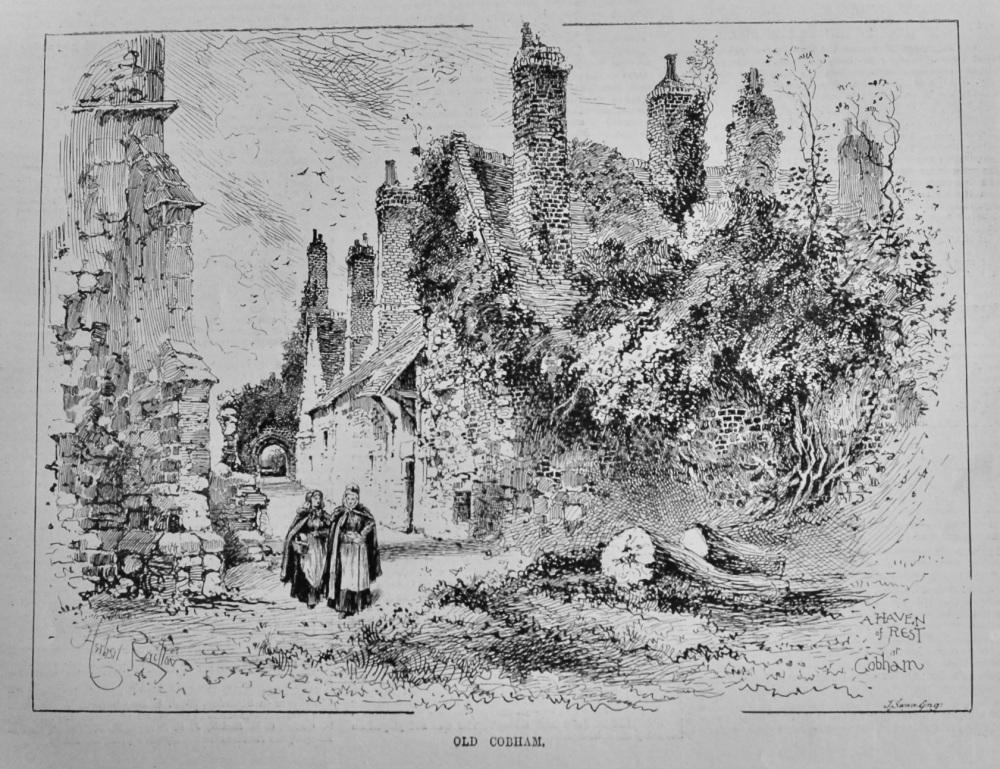 Old Cobham.  1887.