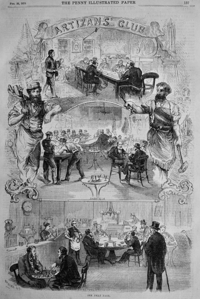 Artizan's Club.  1870.