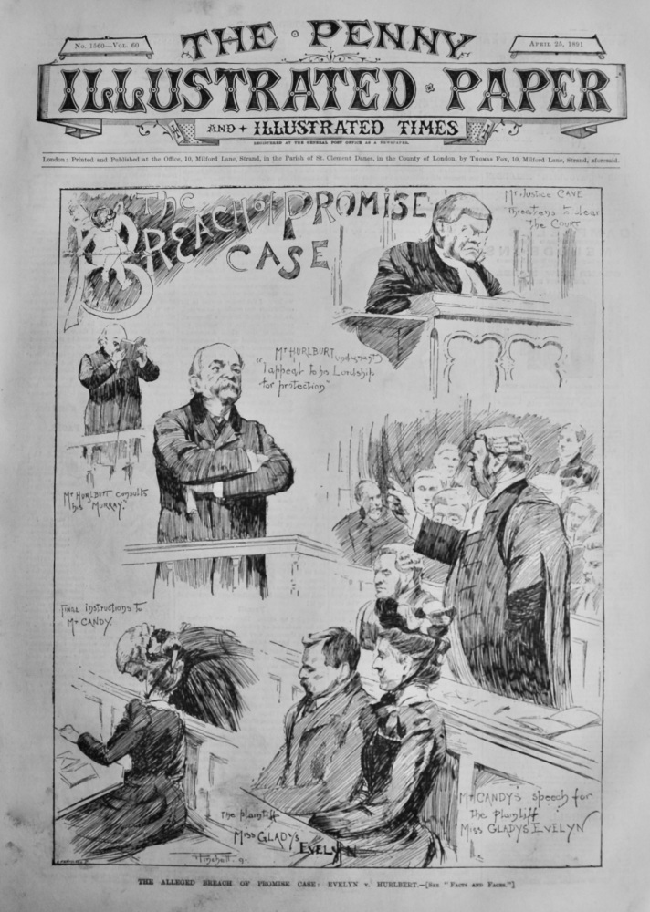 The Penny Illustrated Paper and Illustrated Times. April 25th, 1891.