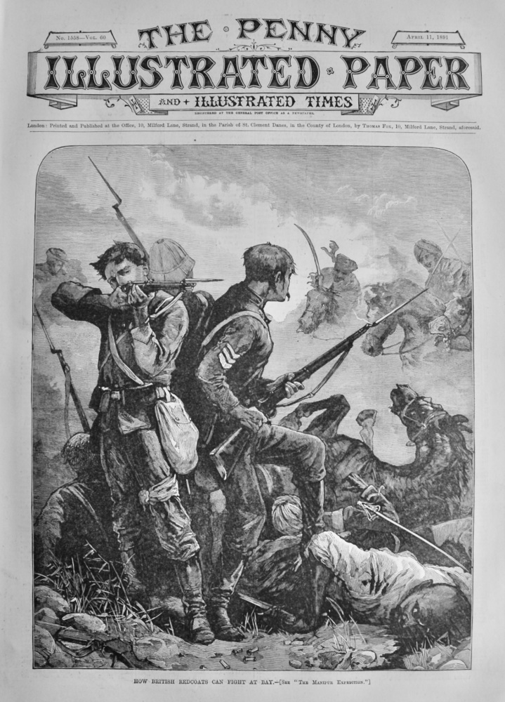 The Penny Illustrated Paper and Illustrated Times.  April 11th, 1891.