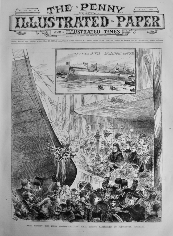 The Penny Illustrated Paper & Illustrated Times. March 7th, 1891.